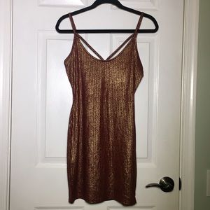 Boohoo Thin Strap Strappy Dress